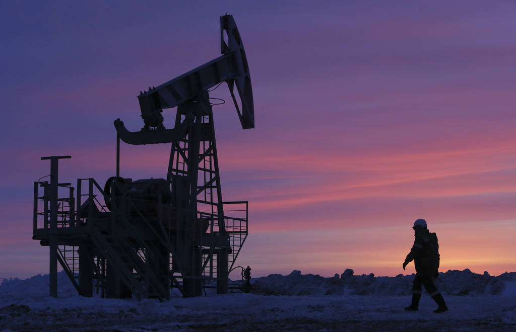 Oil prices rise in a week