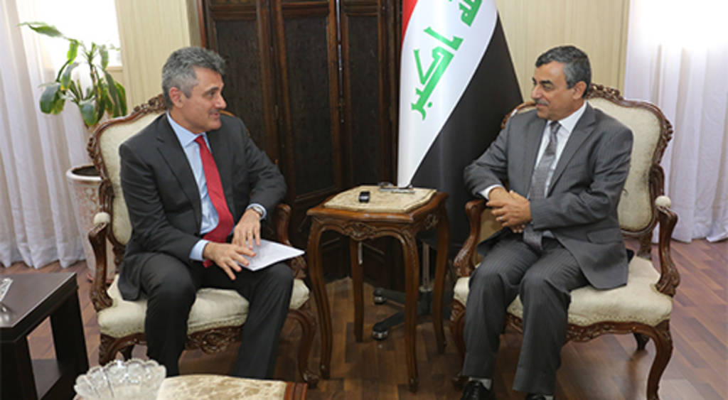 Iraq and Italy discuss power generation projects and stages of rehabilitation of Mosul Dam