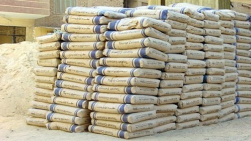 The stability of the Egyptian cement prices ... White .. And «Sinai habit» to 1670 pounds per ton