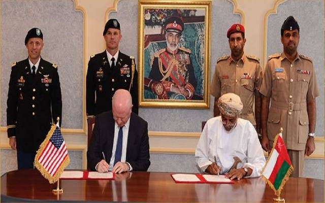 Under an agreement .. Oman allows the United States to exploit the ports and airports