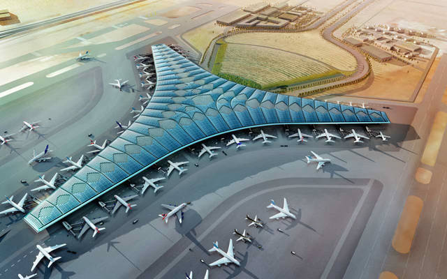 Completion of 21.3% of the new passenger terminal at Kuwait International Airport